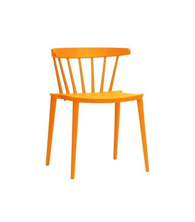 One Kings Lane Orange Hudson Dining Chairs