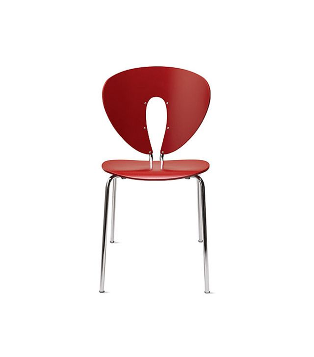 Stua Globus Chair in Plastic with Polished Frame