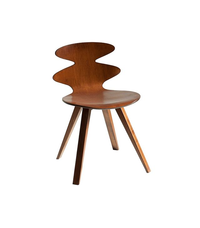 Saloom Walnut Rosie Plyshell Side Chairs