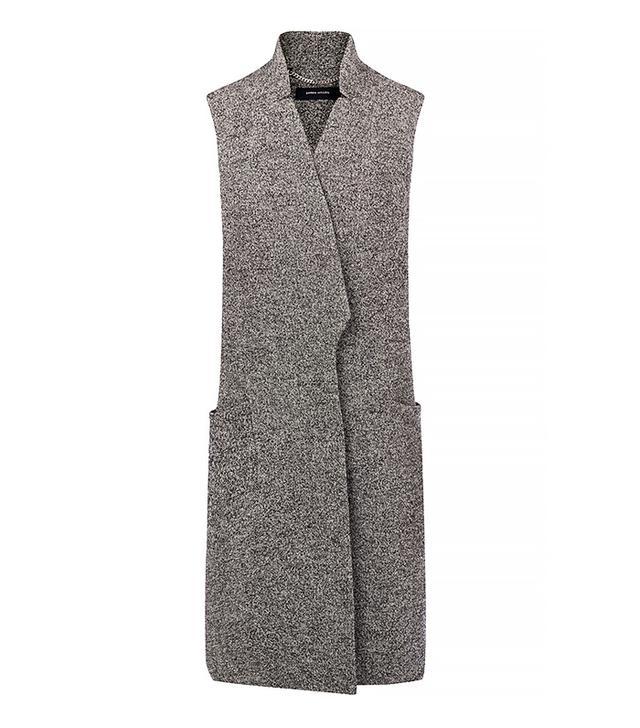 Karen Millen Tweed Long Waistcoat