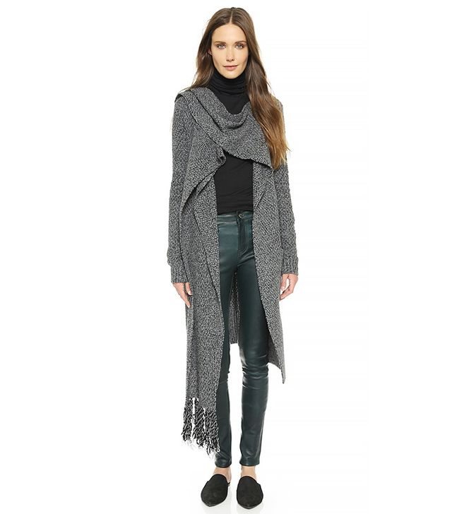 Thakoon Addition Scarf Tie Cardigan