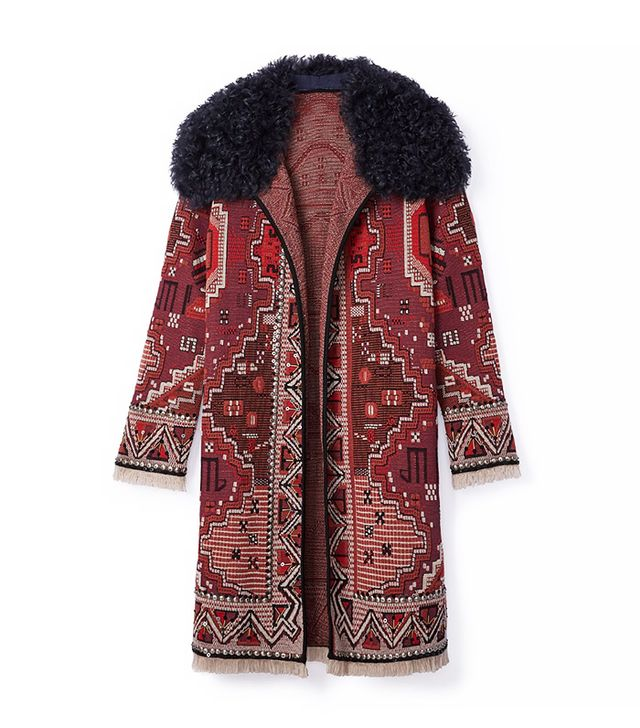 Tory Burch Embellished Coat