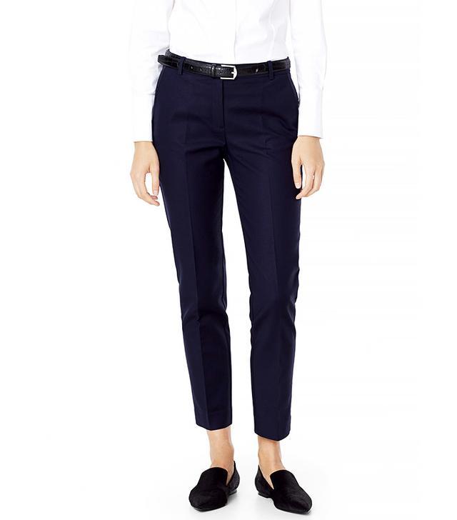 Mango Cotton Trousers