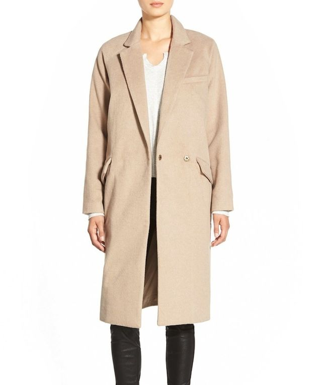 Native Youth Single Button Peacoat