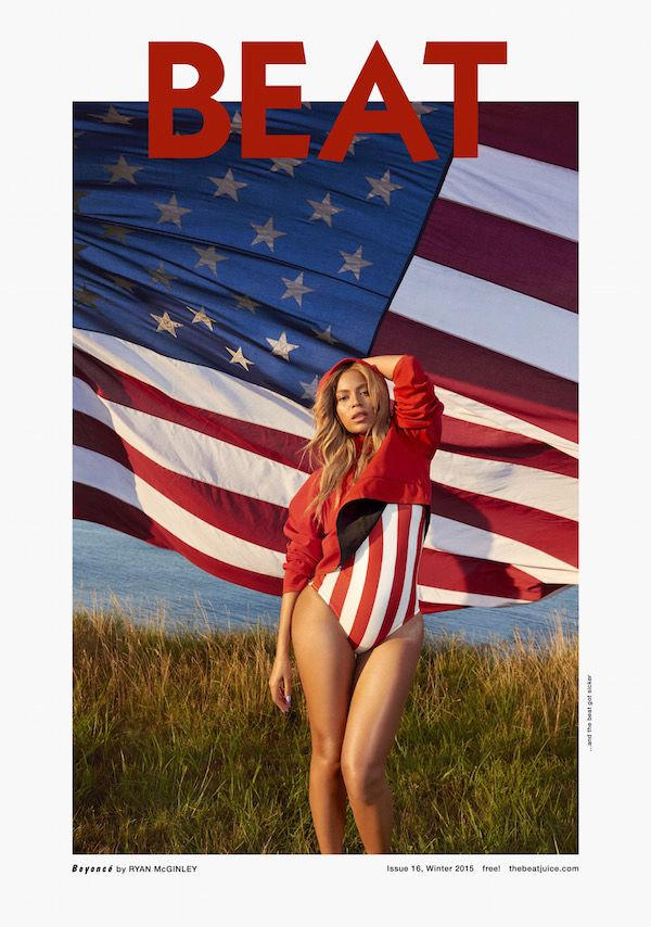 Beyoncé Gets Super Patriotic for Her Latest Cover