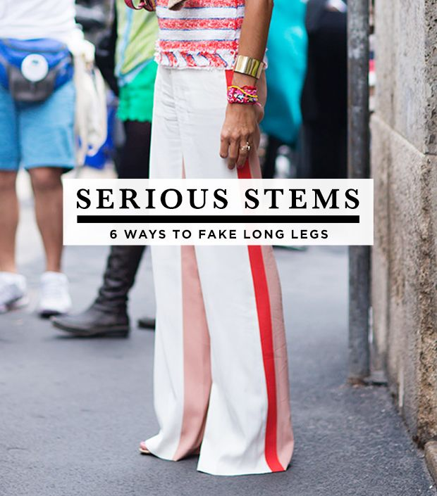 6 Tricks To Make Your Legs Look Longer