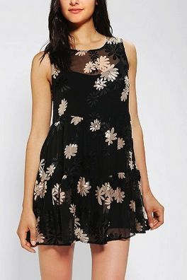 For Love & Lemons  Loverboy Babydoll Dress