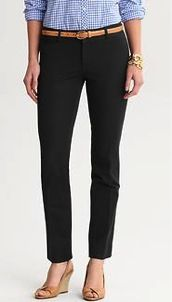 Banana Republic Banana Republic Sloan Side Zip Leggings