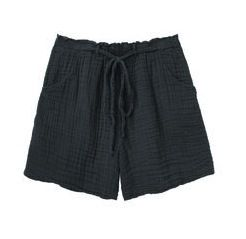 Raquel Allegra Raquel Allegra Cotton Gauze Shorts