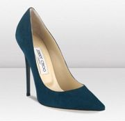 Jimmy Choo Jimmy Choo Anouk Suede Pointed Toe Pumps