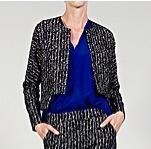 Zero + Maria Cornejo  Zero + Maria Cornejo Omi Slate Coated Jacket