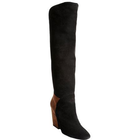 Pierre Hardy Circular Overlay Knee Boots