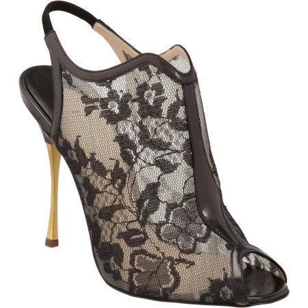 Nicholas Kirkwood Lace Glove Sandals