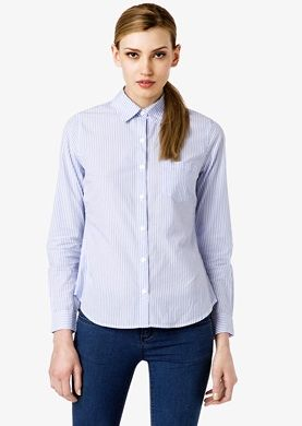 Forever 21 Essential Striped Button-Down