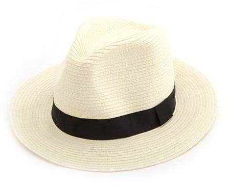 Charlotte Russe  Classic Straw Panama Hat