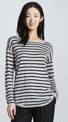 Joie Millie Striped Slub Sweater