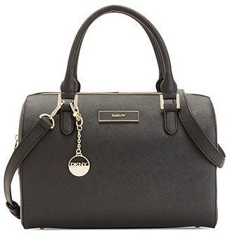 DKNY Saffiano Leather Satchel