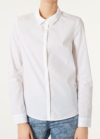 Topshop Cotton Shirt