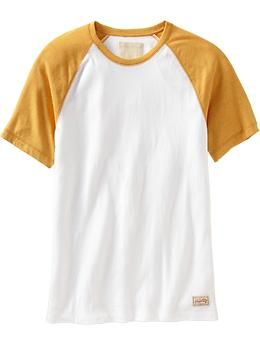 Old Navy Vintage Baseball Tees