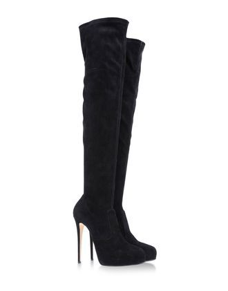 Le Silla   Suede Over the Knee Boots