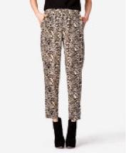 Forever21 Leopard Print Harem Pants