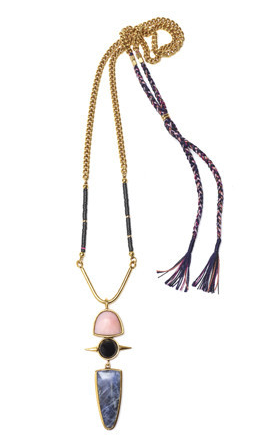 Lizzie Fortunato Totem Pendant II Necklace