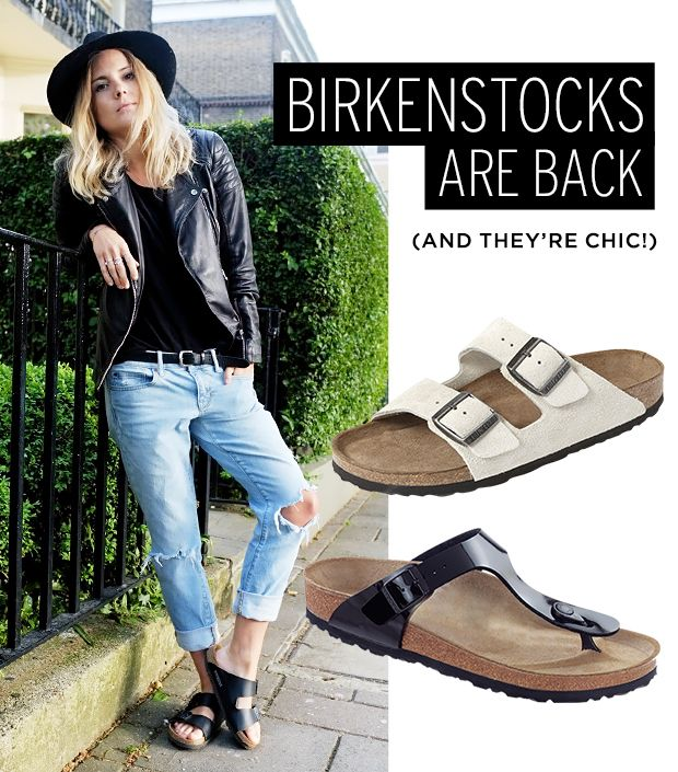 birkenstocks are back see how ashley olsen 39 s wearing them whowhatwear. Black Bedroom Furniture Sets. Home Design Ideas