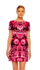 MICHAEL Michael Kors MICHAEL Michael Kors Floral Print Knit Dress