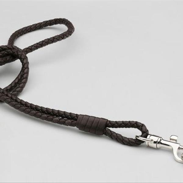 Bottega Veneta Ebano Intrecciato Nappa Key Ring