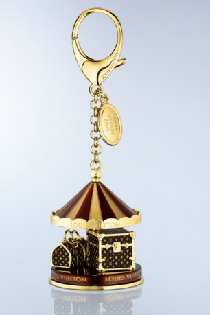 Louis Vuitton Bag Charm Carrousel Key Chain