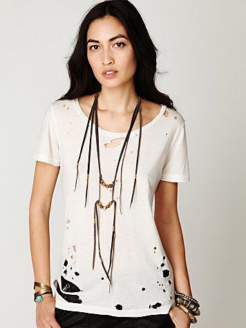 Free People Destroyer Tee