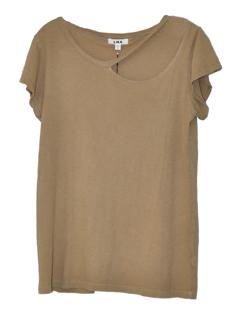 LNA Ripped Neckline T-Shirt
