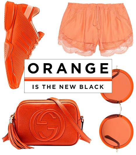 Why Orange Really Is The New Black