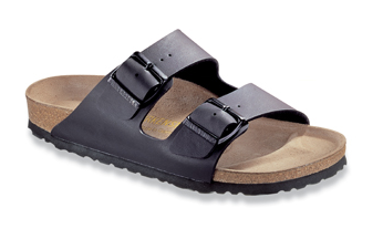 Birkenstock Black Birko-Flor Arizona Sandals