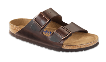 Birkenstock Arizona Soft Footbed Leather Sandals