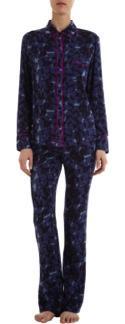 Piamita  Solid Isabella Pajama Shirt