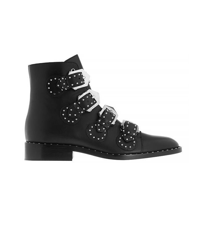 Givenchy Elegant Studded Ankle Boots