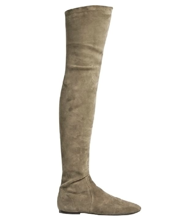 Isabel Marant Etoile Brenna Stretch-Suede Over-the-Knee Boots