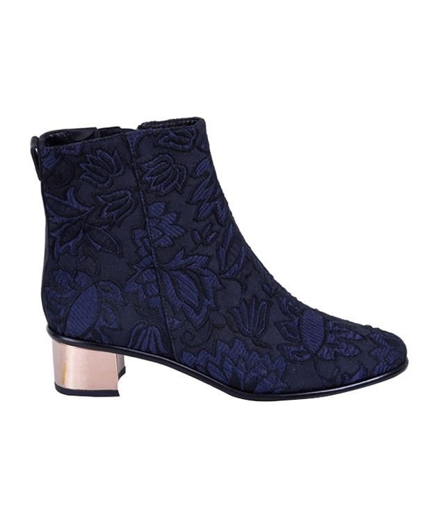 Tibi Brocade Felix Boots