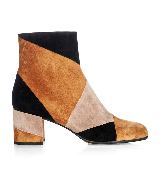 Gianvito Rossi Stivale Suede Ankle Boots