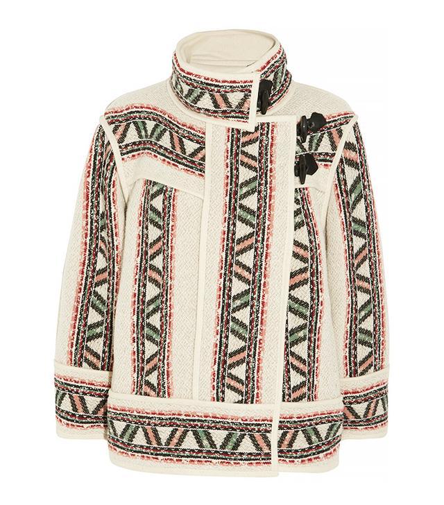Isabel Marant Dillon Oversized Wool-Blend Coat