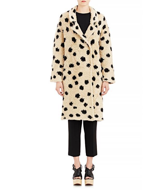 Thakoon Addition Shaggy Coat