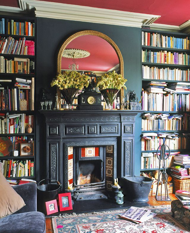Red is for passion and energy, which makes it the perfect color to inspire creativity in your home library. Books help you dream, evoke new ideas, or take you on a new adventure at the turn of...