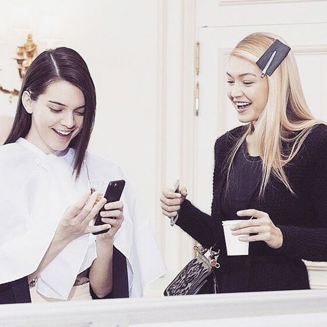 Gigi Hadid and Kendall Jenner's Most Adorable Vogue Spread Yet