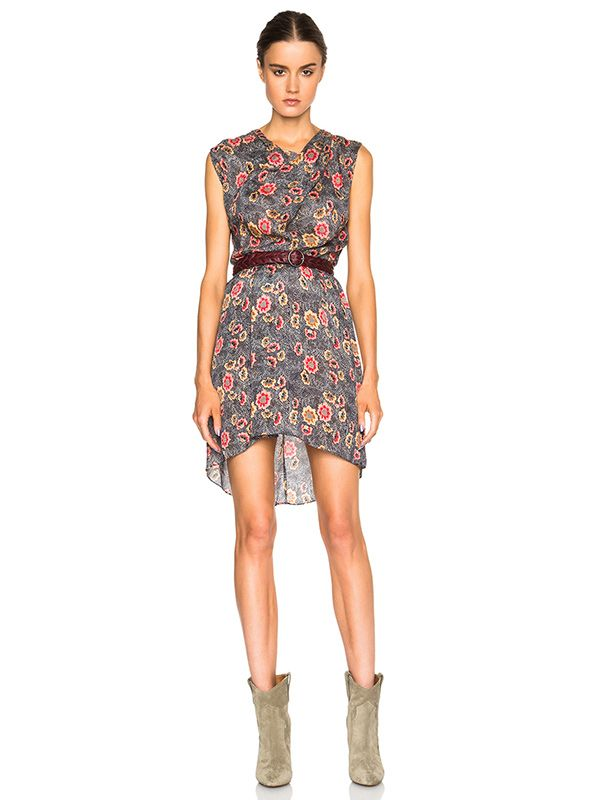 Étoile Isabel Marant Sukey Slavic Flowers Dress