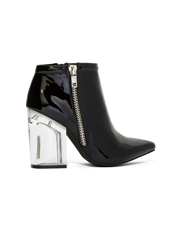 Jeffrey Campbell Truly Patent Leather Booties