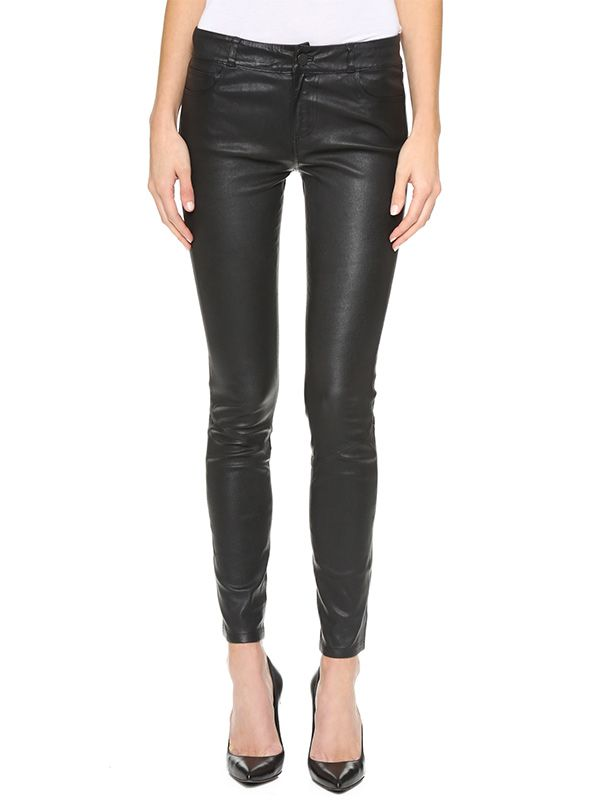 Paige Denim Verdugo Leather Pants
