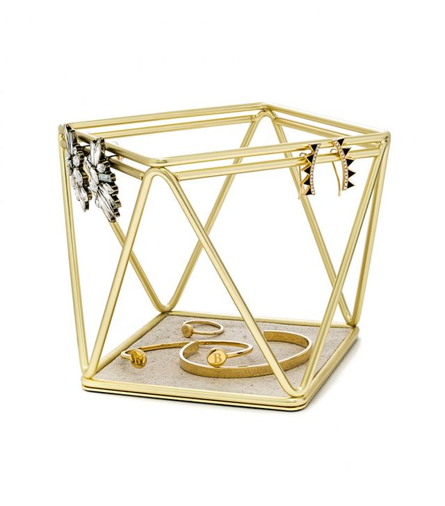 Gal Meets Glam x BaubleBar Geo Metal Storage Basket
