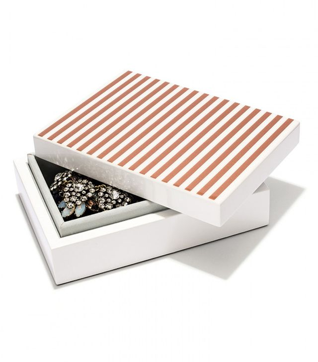 Gal Meets Glam x BaubleBar Striped Jewelry Box