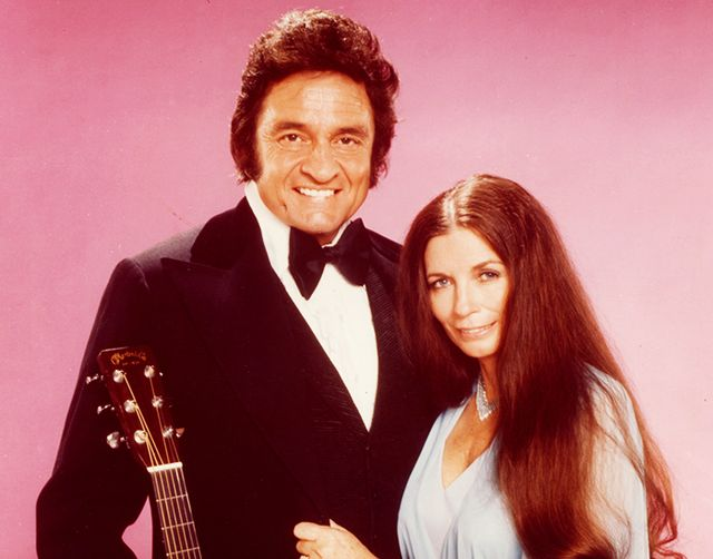 Johnny Cash & June Carter Halloween costume.